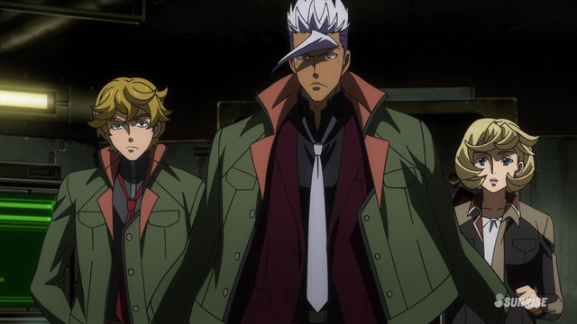 Mobile Suit Gundam Iron Blooded Orphans Ep 28 HD 720p