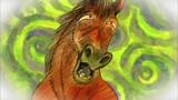 The Horse and the Kaaranbe / The White Fox Repays a Debt / Sarasarayasara image