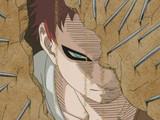 Akamaru Trembles: Gaara's Cruel Strength!