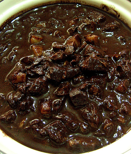 how to cook blood pudding to dinuguan