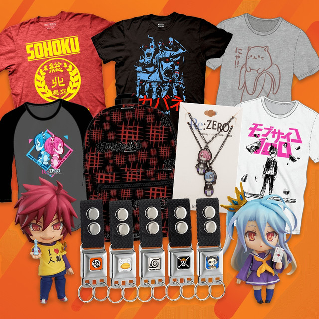 crunchyroll anime boston get all your anime merch at the