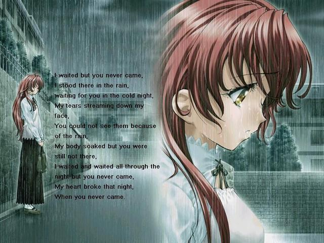 Sad Love Animation Wallpaper : crunchyroll - Forum - Saddest Anime Wallpapers - Page 44