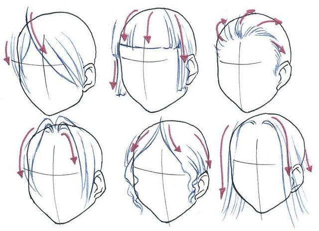 Line Drawing Hair : Crunchyroll groups anime fanart