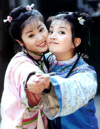 Vicki Zhao And Ruby Lin  left  ruby lin is the perfectVicki Zhao And Ruby Lin