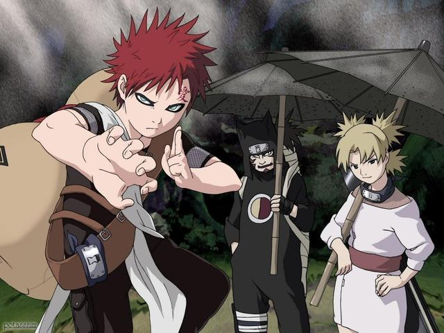 Crunchyroll - What naruto character are you - Group Info Gaara And Kankuro Brothers