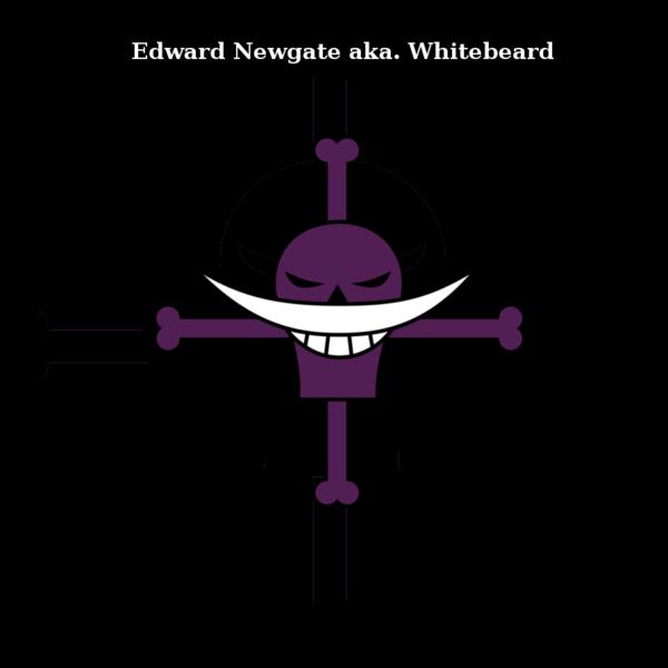 Whitebeard pirates logo - photo#33