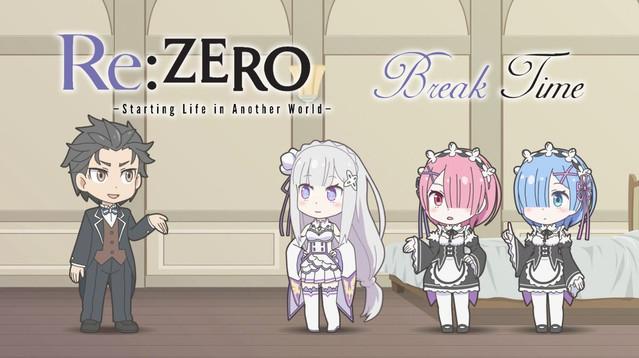 Crunchyroll Les Mini épisodes De Rezero Disponibles Sur Crunchyroll