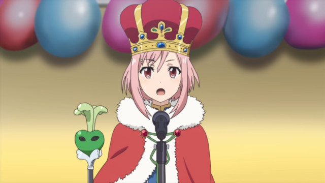 Sakura Quest hero