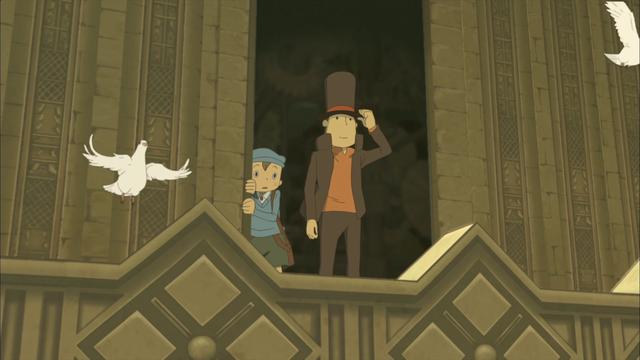 Crunchyroll Professor Layton Cracks The Case Of Video Game Anime