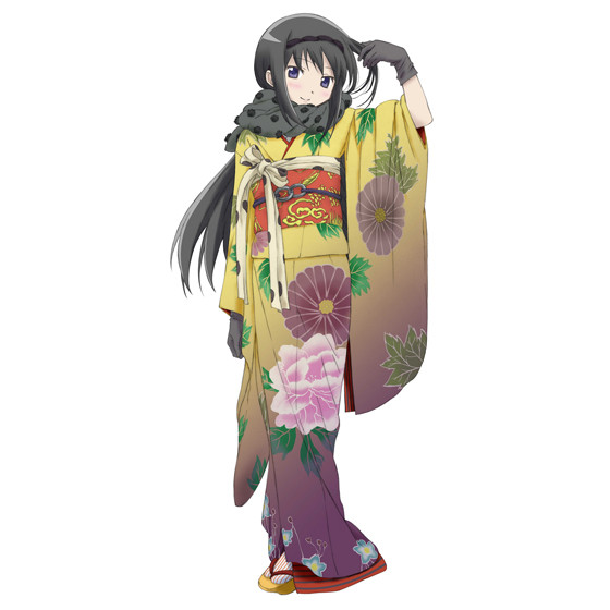 madoka homura yukata
