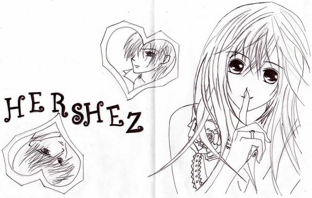 Anime Bffs Coloring Pages Sketch Coloring Page