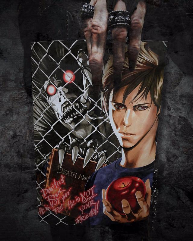 "Crunchyroll - ""Death Note"" Manga Artist Illustrates Netflix Poster"