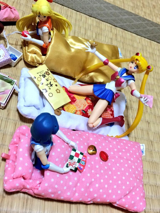the sailor senshi from sailor moon are here staying up late on the night of school trip to kyoto which is a popular destination for japanese schools  crunchyroll   smartphone   futon   cover manufacturer sponsors photo      rh   crunchyroll