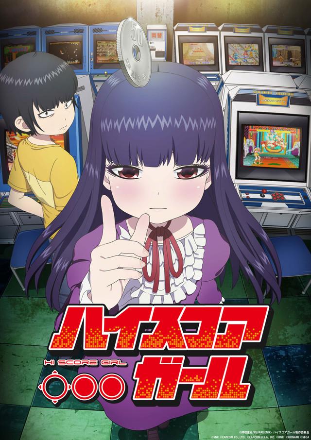 The US Premiere Of Hi Score Girl At Otakon 2018 Is Still A Bit Less Than Month Away But Fans Upcoming Adaptation Rensuke Oshikiris Manga