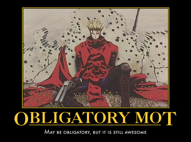 Trigun Best Quootes: Anime Motivational Posters (READ