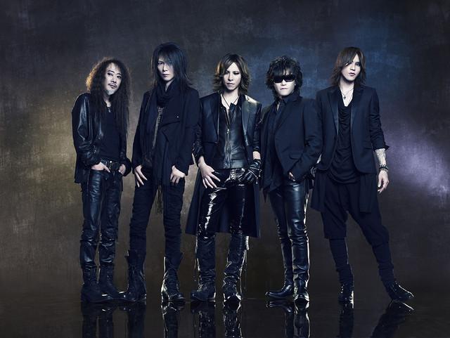 X JAPAN hologram PR