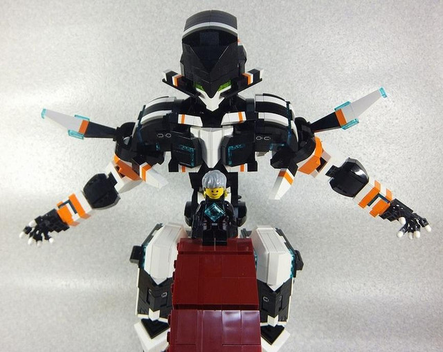gargantia on the verdurous planet lego
