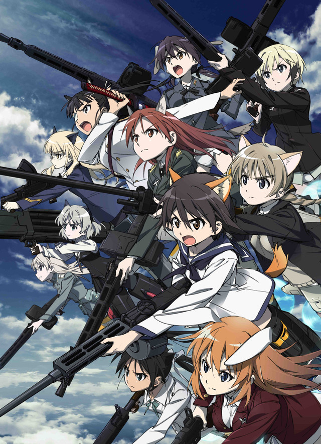 "New ""Strike Witches: Operation Victory Arrow"" Visual Unveiled"