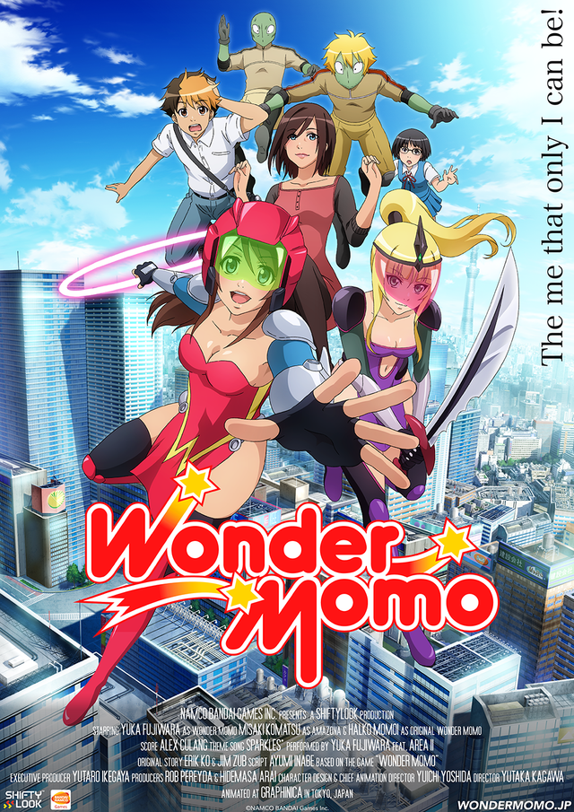 "Crunchyroll - ""Wonder Momo"" Web Anime to Stream on Crunchyroll ""Wonder Momo"" Web Anime to Stream on Crunchyroll - 웹"