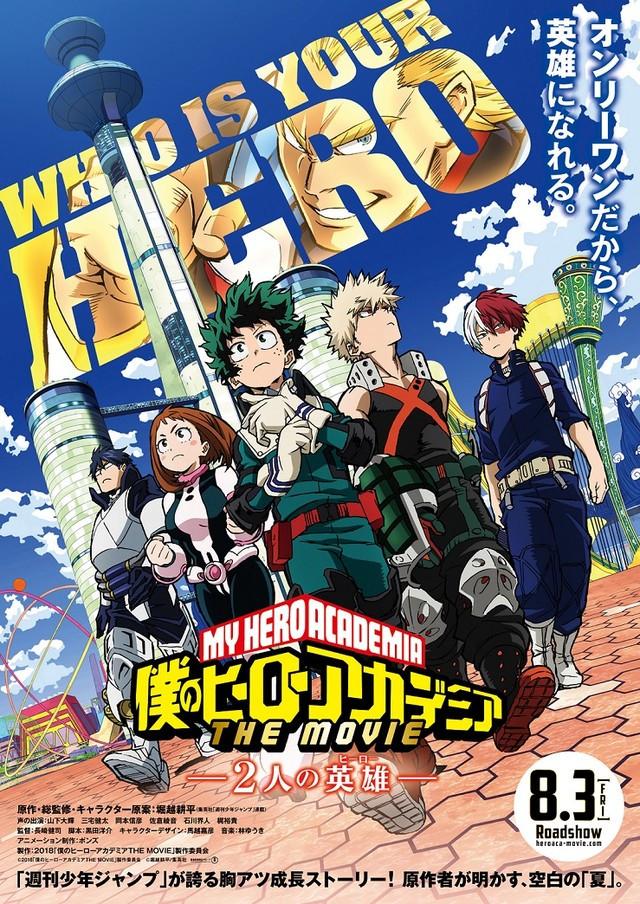 Crunchyroll My Hero Academia The Two Heroes Anime Film Opens