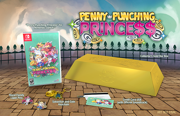 Penny-Punching Princess - Announcement Trailer (Nintendo Switch, PS Vita)