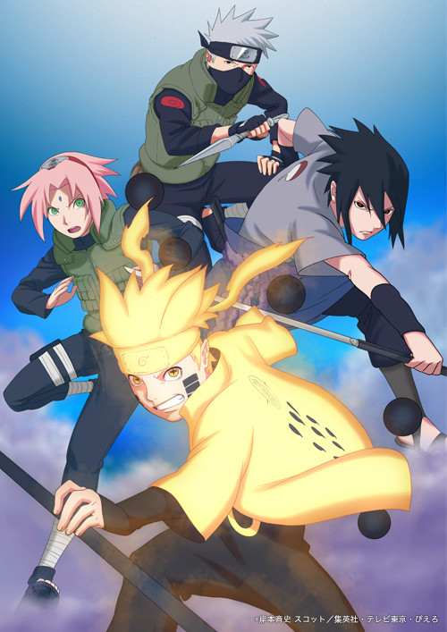 "Crunchyroll - ""Naruto Shippuden"" Anime Visual Looks Ahead ..."