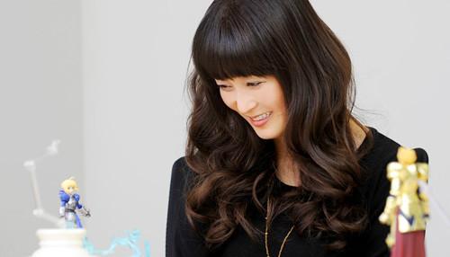 Crunchyroll - VIDEO: Saber's Voice Actress Promotes Chogokin