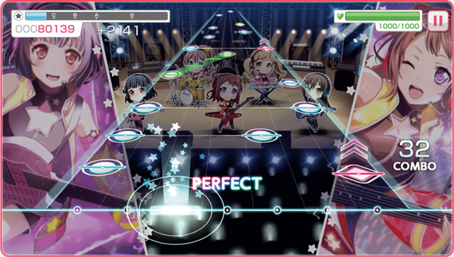 ... the world of anime tunes in general. The game also features settings to  explore, and visual novel style scenes that play out between the characters.