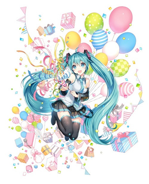 Crunchyroll Pictcakechara Offers Hatsune Miku Birthday Cake For