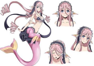 mero the mermaid monster musume no iru nichijou
