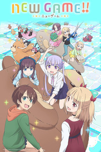 NEW GAME!! is a featured show.