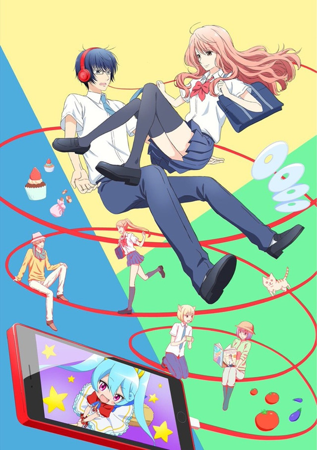 Romance In Real Life Is More Complicated Than 2D Media Or At Least Thats The Premise 3D Kanojo Girl An Upcoming TV Anime Based On