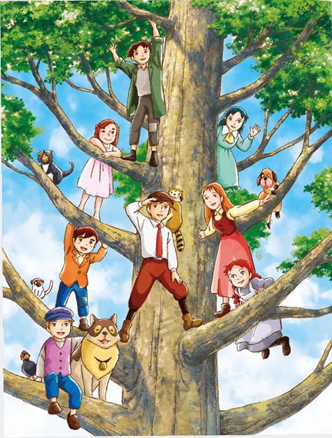 crunchyroll sky perfectv airs world masterpiece theater 4k
