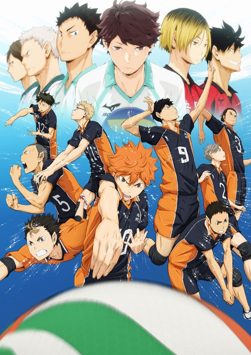 "Crunchyroll - 4th Key Visual for ""Haikyu!!"" TV Anime ..."