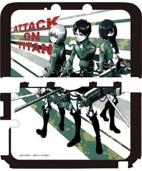Attack On Titan cases for your 3DS 6ccf874b0e577b956d93438a58eda4df1399909757_full