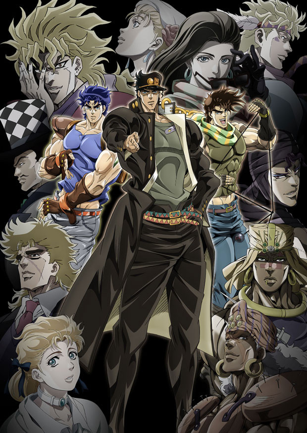 "Crunchyroll - VIDEO: ""JoJo's Bizarre Adventure Part III ..."
