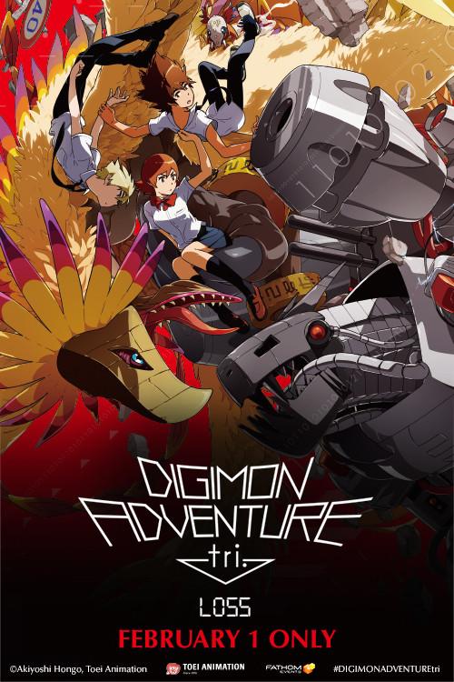 Crunchyroll Final Three Digimon Adventure Tri Anime Films