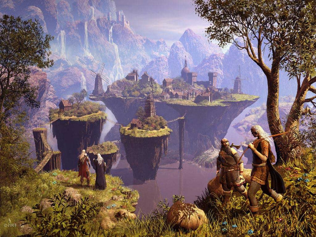 Анимационные водопады