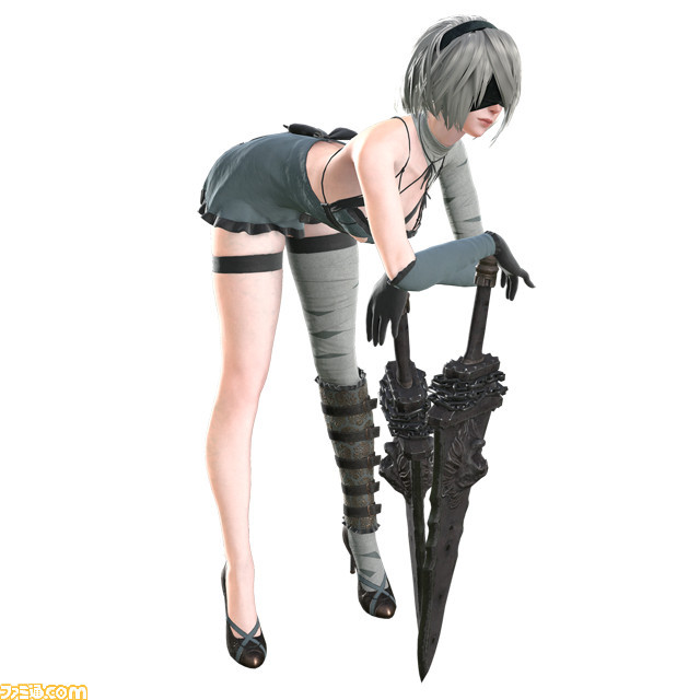 Automata's First DLC Includes New Costumes — NieR