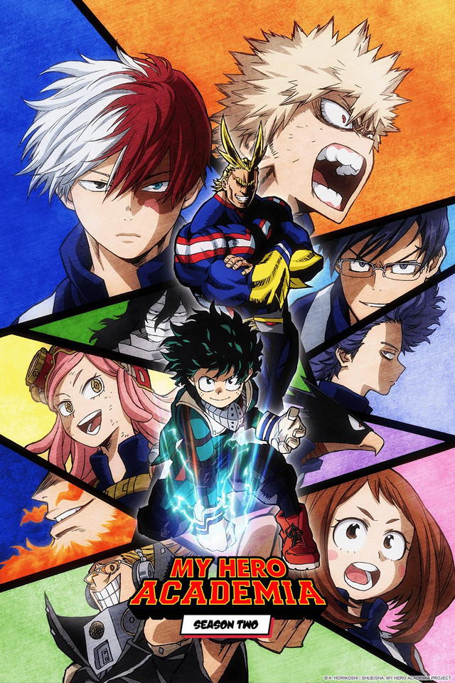 Boku no Hero Academia (Season 2) | Моя геройская академия (Cезон 2)