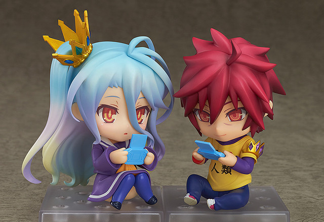Crunchyroll 『 』from Quot No Game No Life Quot Inspire Nendoroid
