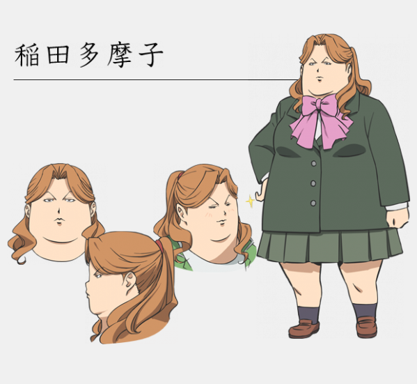 Anime Characters Chubby Reader : Crunchyroll quot silver spoon anime character designs previewed