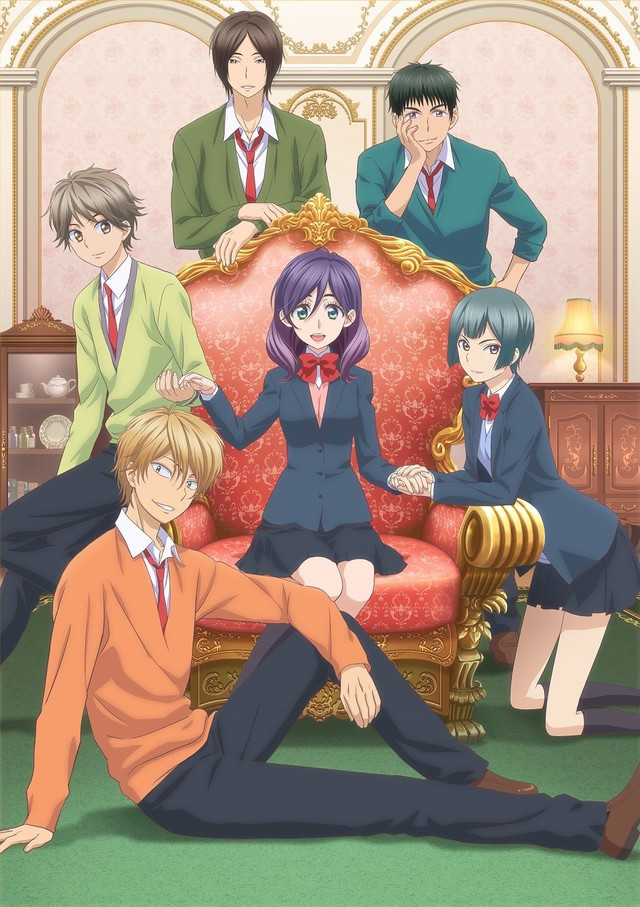 Crunchyroll Fictional Pretty Boys And More Join The Cast Of Kiss