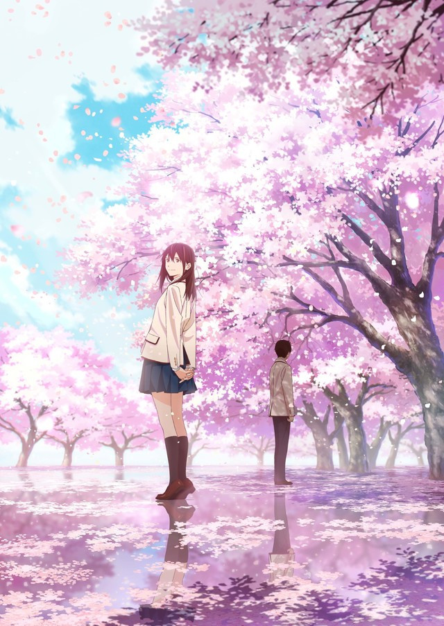 A New Key Visual Has Been Revealed For Kimi No Suizou Wo Tabetai I Want To Eat Your Pancreas An Upcoming Theatrical Anime Film Based On The  Novel
