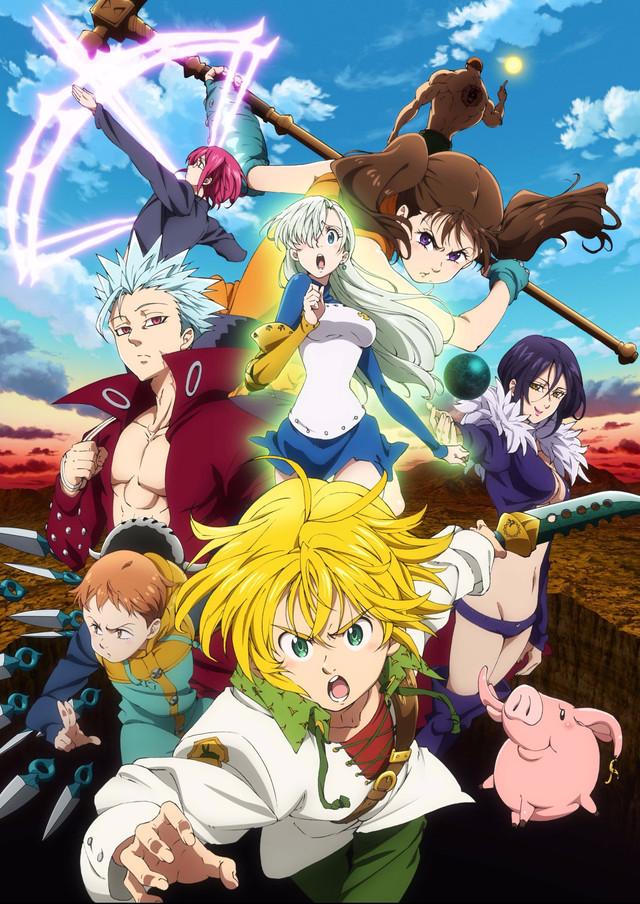 Risultati immagini per the seven deadly sins anime