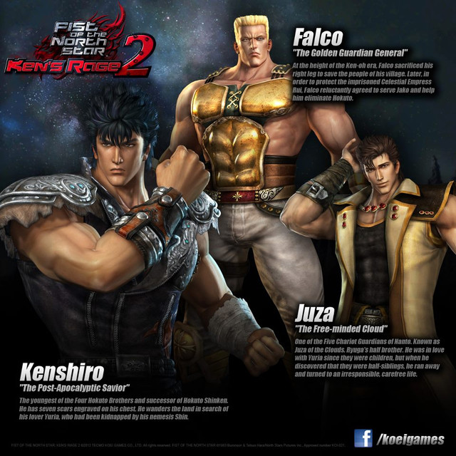 """Fist Of The North Star: Ken's Rage 2"" Beats"