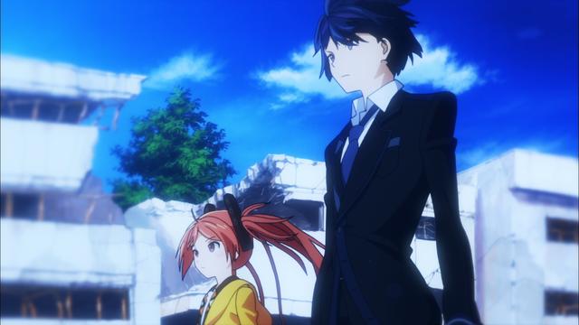 Black Bullet Rentaro and Enju