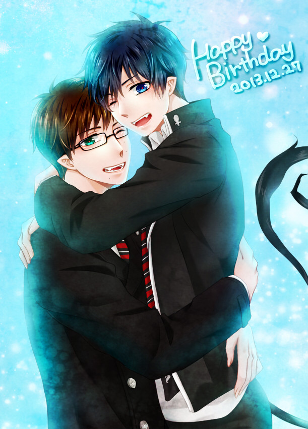 Crunchyroll Blue Exorcist Author Wishes Rin and Yukio Okumura a