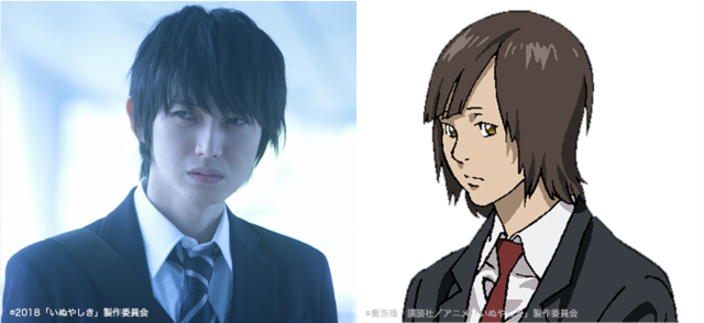 In Both The Film And TV Anime Hongo Plays Naoyuki Ando An Ordinary High School Student Who Gets Caught Up Conflict Between His Childhood Friend