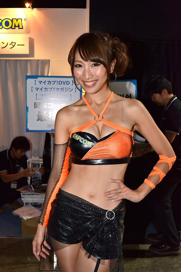 Crunchyroll Feature The Girls Of Tokyo Game Show 2013
